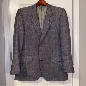 Vintage Burberry Sports Coat Size 44R
